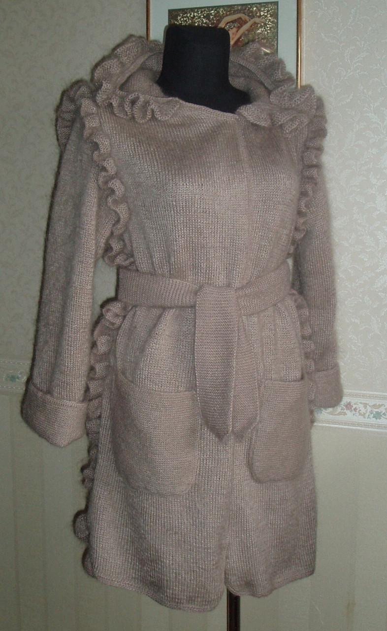 вязаное пальто норка продажа цена в киеве вязаные пальто от