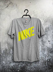 Мужская футболка Nike (серая) реплика