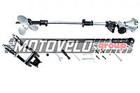 Насадка на мотокосу (подвесной лодочный руль с винтом, 9T, D-26mm) BEST