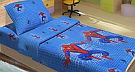 Постельное белье детское ранфорс Spiderman Web Lotus