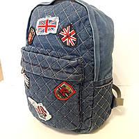 Женский джинсовый рюкзак, фото 1