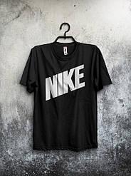 Мужская футболка Nike (черная) реплика