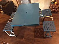 Походный, раскладной столик со стульями для отдыха на природе
