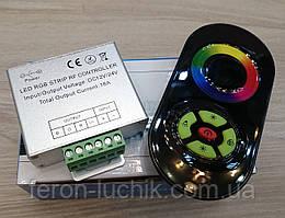 Контроллер для RGB LED ленты сенсорный радио 18А, 12V (216W max) пульт белый, черный