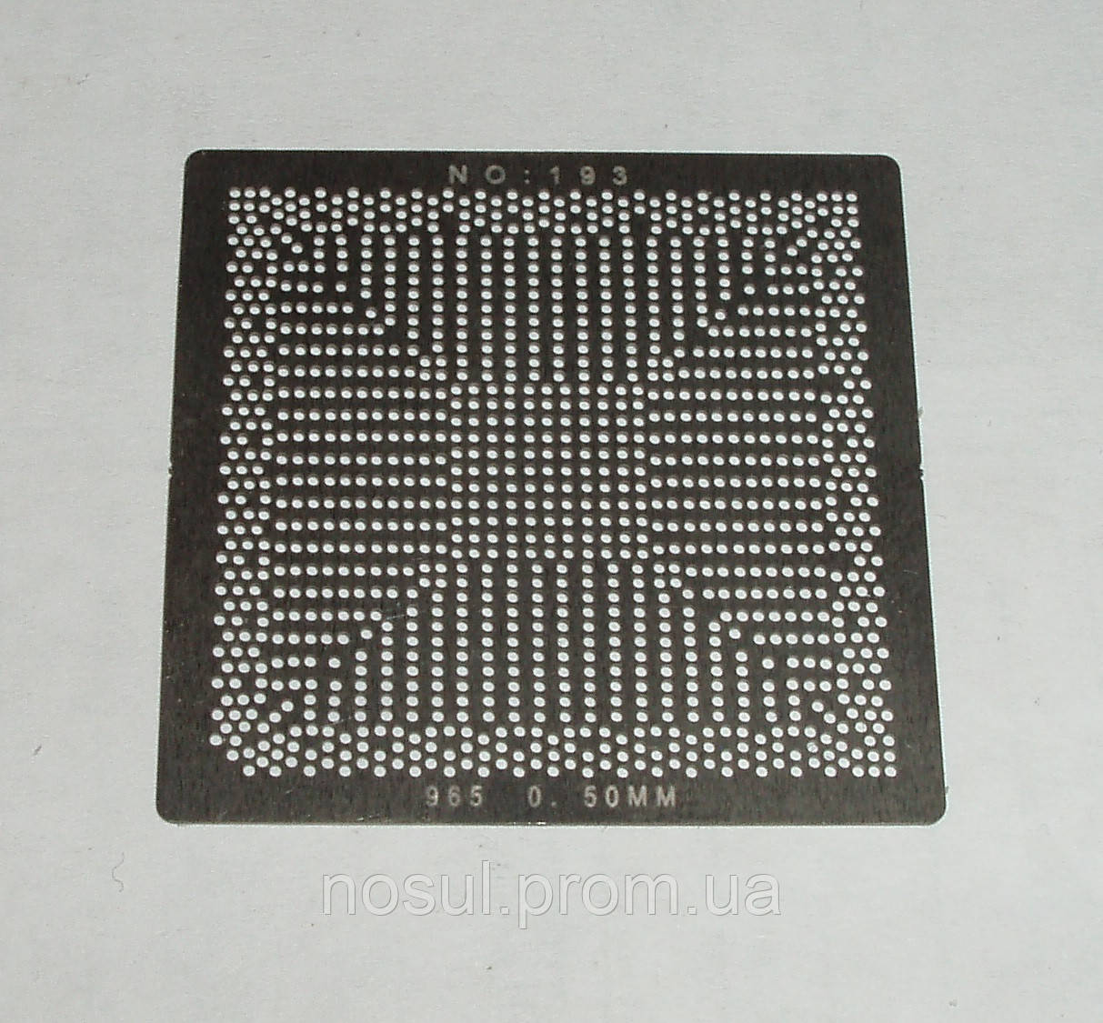 BGA шаблоны INTEL №193 0.5 mm 965 (82P965//82P31)G31) трафареты шаблоны для реболла реболинг набор восстановле