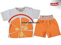 Летний костюм на 3, 6, 9 месяцев. Детская одежда оптом из Турции. Доставка 5-7 дней!