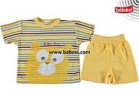 Летний костюм на мальчика 3, 6, 9 месяцев. Детская одежда оптом из Турции. Доставка 5-7 дней!