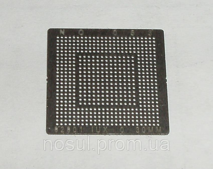BGA шаблоны INTEL №053 0.3 mm 82801 IUX трафареты шаблоны для реболла реболинг набор восстановление пайка ремо