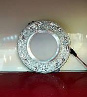 Светодиодный светильник встраиваемый Feron 7572 5W + 3W LED-подсветка