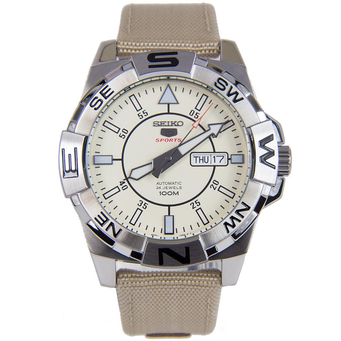 Часы Seiko 5 Sports SRPA67K1 Automatic 4R36
