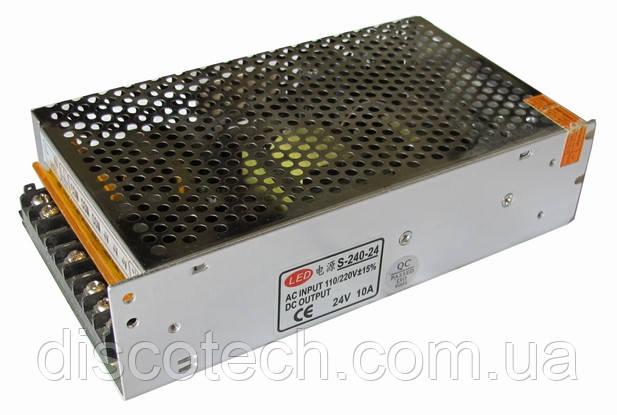 Блок питания 24V/240W 10А IP20 S-240-24