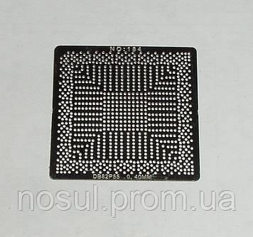 BGA шаблоны INTEL №184 0.45 mm DB82P55 трафареты шаблоны для реболла реболинг набор восстановление пайка ремон