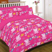 Подростковое постельное белье ТМ Вилюта Свинка Пеппа 12571