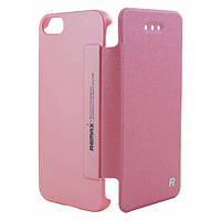 Чехол книжка для Samsung i9500 Galaxy S4 Remax Protective Ice розовый