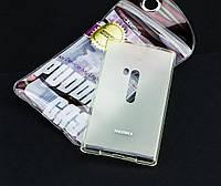 Силиконовый чехол для Nokia Lumia 920 Remax белый