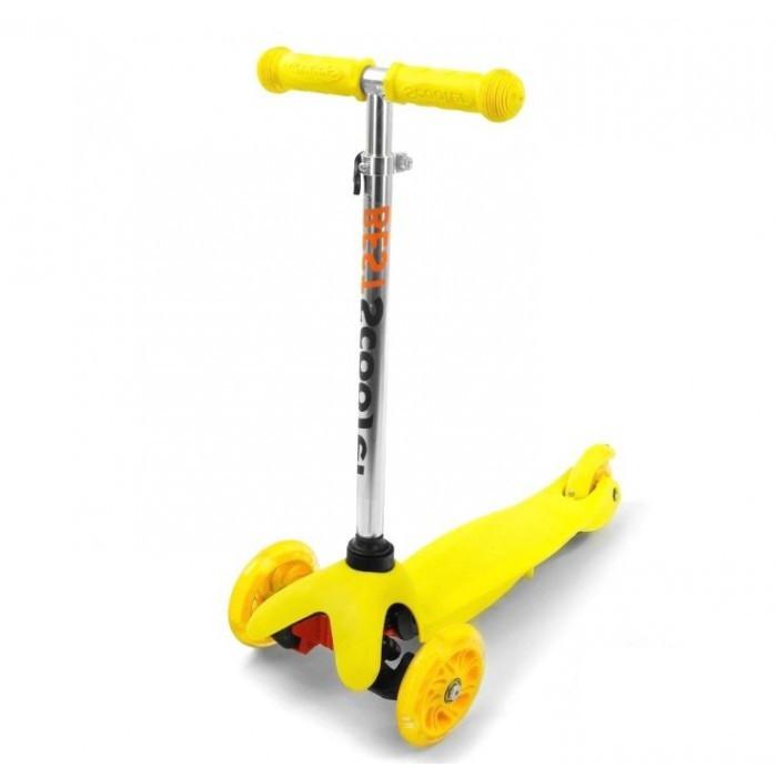 Самокат трехколесный Best Scooter 466-112 желтый