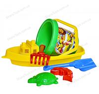 """Детский набор для песка и воды """"Кораблик 3"""""""
