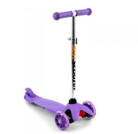 Самокат трехколесный Best Scooter 466-112 фиолетовый
