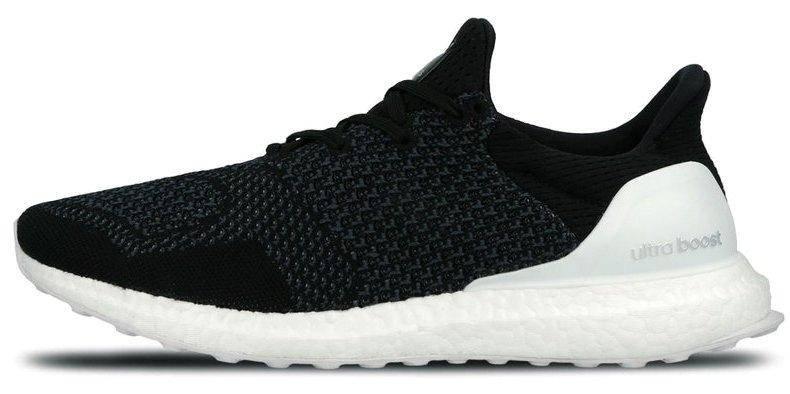 Мужские кроссовки в стиле Adidas Ultra Boost Black/White, фото 2