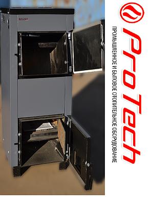 Котел твердотопливный Protech TTП-12 Lux c плитой и охлаждаемыми колосниками длительного горения, фото 2