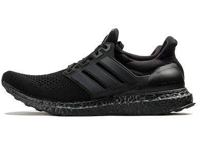 Мужские кроссовки в стиле Adidas Ultra Boost Triple Black