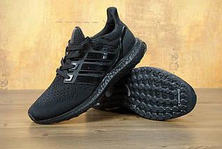 Мужские кроссовки Adidas Ultra Boost Triple Black, фото 3