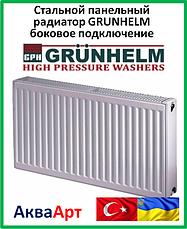 Стальные панельные радиаторы Grunhelm 22 тип боковое подключение