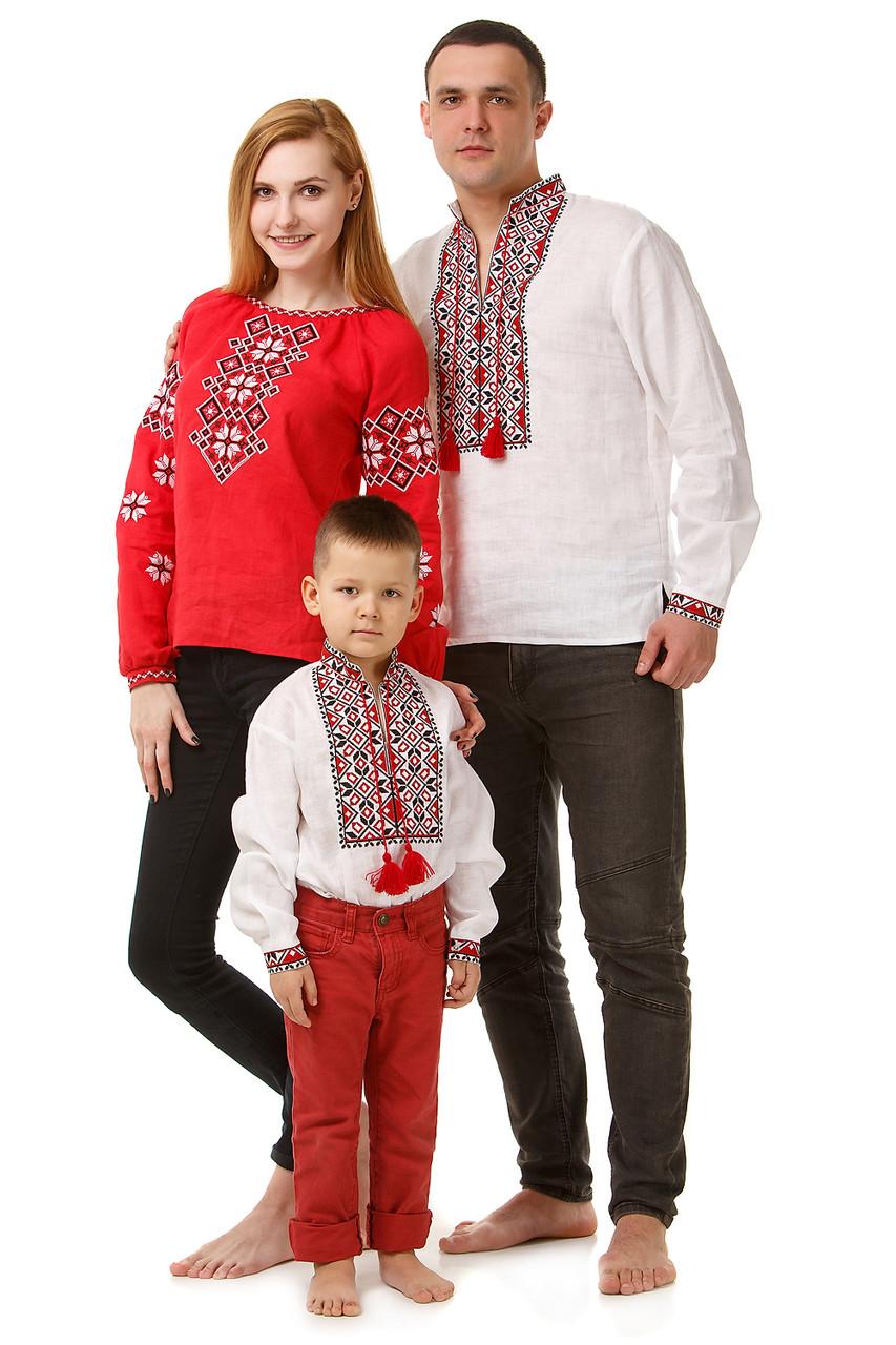 Семейные вышиванки