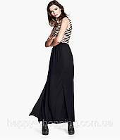 Черная макси юбка H&M, фото 1