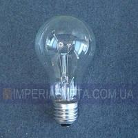 Лампочка общего назначения Iskra накаливания прозрачная традиционная LUX-143146