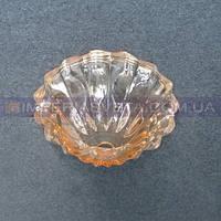 Блюдце, чашка декоративное для люстр, светильников IMPERIA центральная стеклянный LUX-512062