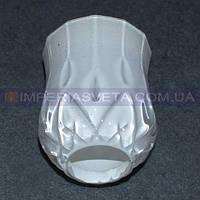 Напатронник декоративный для люстр, бра Е-14 IMPERIA стеклянный LUX-512056
