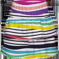 Трикотажная юбка для девочки, цвет мультиколор