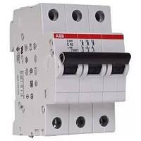 Автоматический выключатель  40A 6кА 3-х полюсный (тип C) (SH203-C40 ABB)