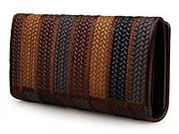 Качественный кошелек Tiding Bag Wicker. Кошелек для девушек. Хорошее качество. Вместительный. Код: КДН1690