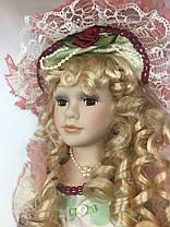 """Интерьерная кукла сувенирная, фарфоровая, коллекционная 45 см """" Матильда """", фото 2"""