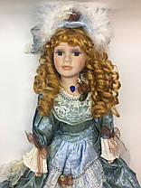 """Сувенирная кукла, фарфоровая, коллекционная 45 см """" Анна """", фото 3"""