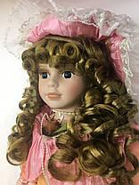 """Фарфоровая кукла, сувенирная, коллекционная 40 см """" Мария """", фото 2"""
