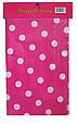 Скатерть розовая в горошек 180х110см, фото 2