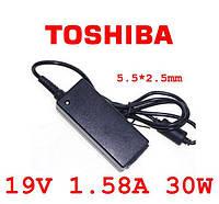 Блок питания Toshiba 19V 1.58A 30W 5.5*2.5mm