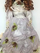"""Фарфоровая Кукла в старинном платье, сувенирная, коллекционная  45 см """" Шарлотта """", фото 2"""