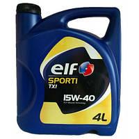 Моторное масло Elf SPORTI TXI 15w40 4л.