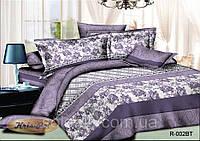 """Двуспальный комплект постельного белья """"Сиена"""". Постельное бельё из натурального хлопка."""