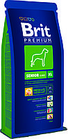 Brit Premium Senior Extra Large корм для пожилых собак гигантских пород, 15 кг