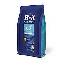 Brit Premium Sensitive Lamb & Rice с ягненком и рисом для собак всех пород,3 кг