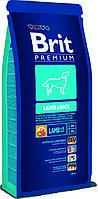 Brit Premium Lamb & Rice корм для собак гипоаллергенный, ягненок с рисом, 15 кг