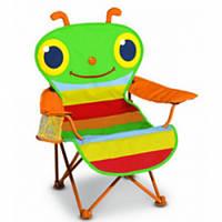Детский раскладной детский стульчик Счастливая стрекоза Melissa & Doug