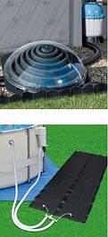 Солнечные нагреватели для бассейнов, солярное оборудование