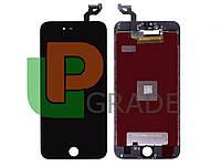Дисплей для iPhone 6S Plus + touchscreen, черный, копия высокого качества