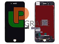 Дисплей для iPhone 7 Plus + touchscreen, черный, копия высокого качества